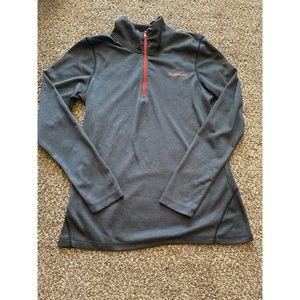 New Balance Grey Turtle Neck Sweater